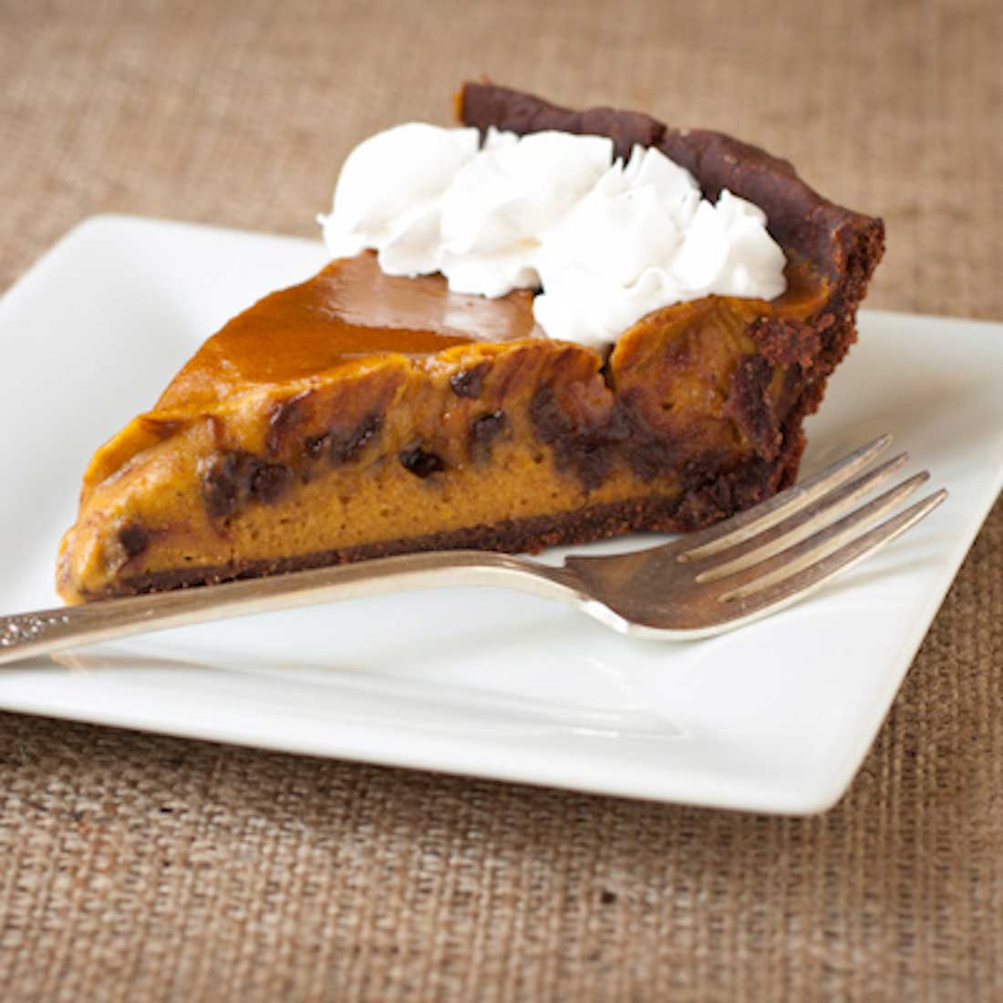 Vegan Gluten-Free Chipotle Chocolate Pumpkin Pie Recipe